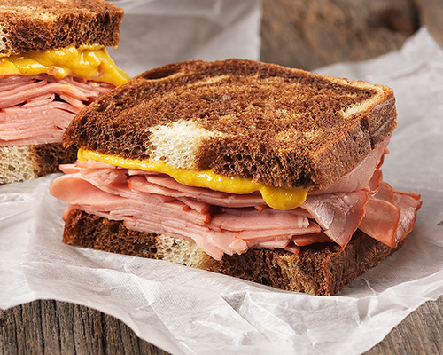 Druxy's Corned Beef On Rye