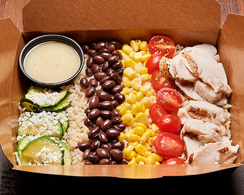 Hot Grilled Chicken Rice Box