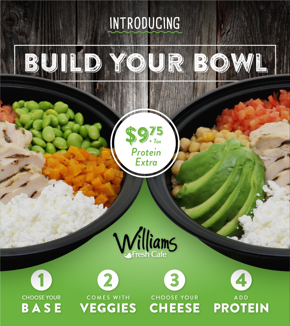 Build Your Own Custom Power Bowls