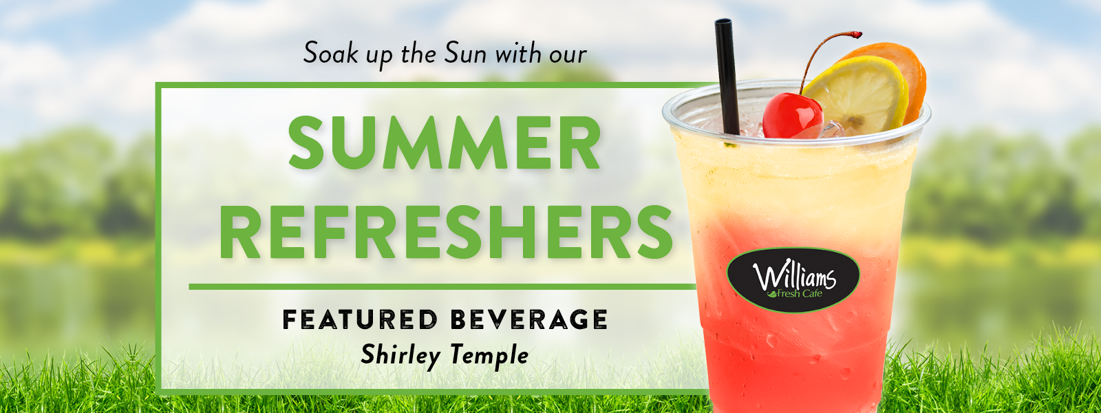 Shirley Temple Summer Refresher