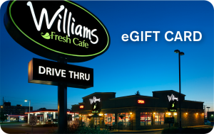 Williams Gift Card