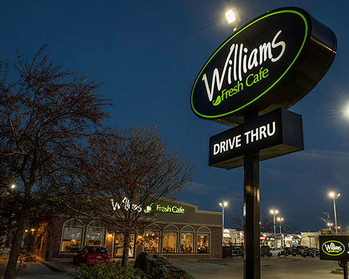 Williams Exterior Sign