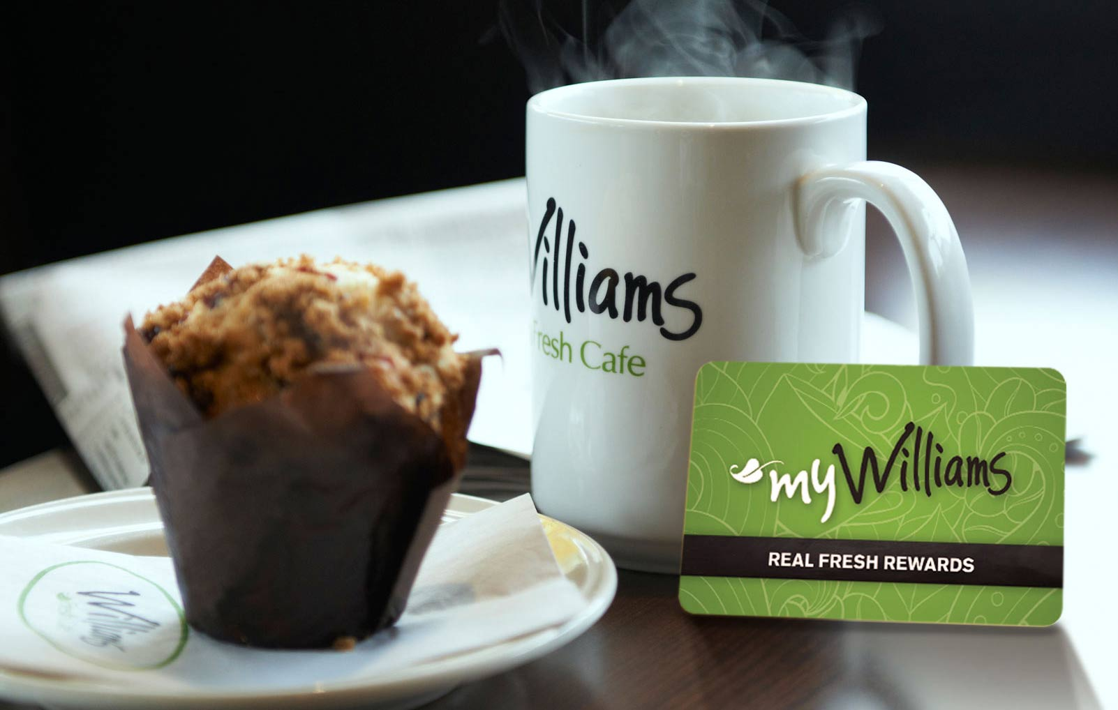 myWilliams coffee