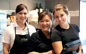 Williams Fresh Cafe staff