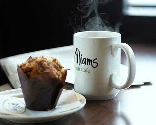 Williams Coffee Mug And Muffin