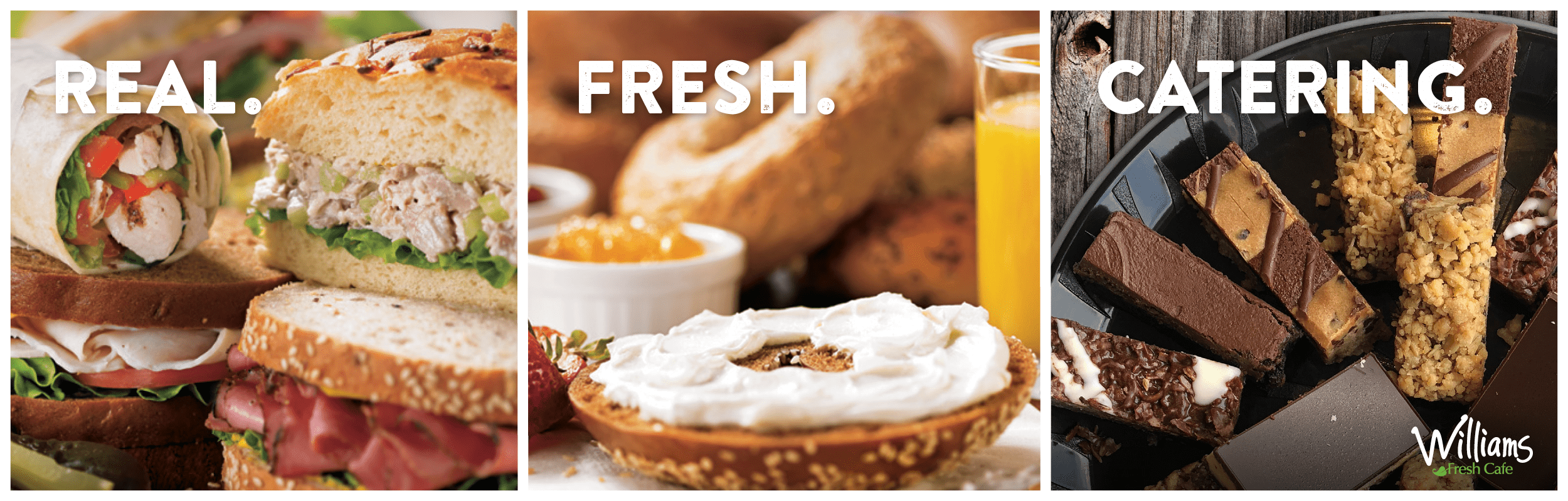 Brand New 2019 Catering Menu For Lunch And Breakfast Desktop Banner